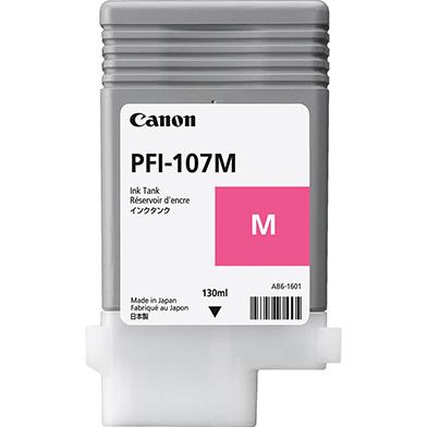 Canon PFI-107M Magenta Ink Cartridge (130ml)