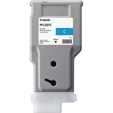 Canon PFI-207C Cyan Ink Cartridge (300ml)