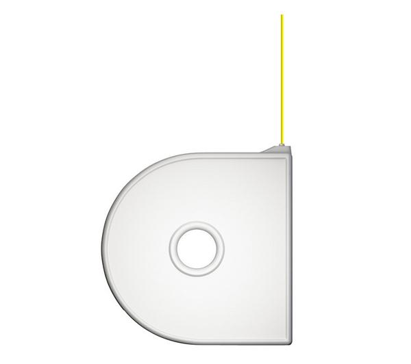 Yellow ABS Cube Cartridge