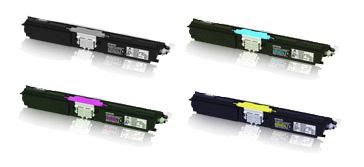 Epson Toner Rainbow Pack CMY(1.6k) K(2.7k)