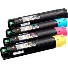 Epson High Capacity Toner Rainbow Pack CMY (13.7K) + Black (18.3K)