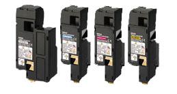 Epson Hi-Cap Toner Rainbow Pack CMY (1.4k) K (2k)