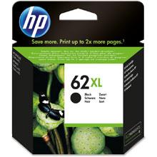 HP 62XL High Cap Black Ink Cartridge (600 pages)