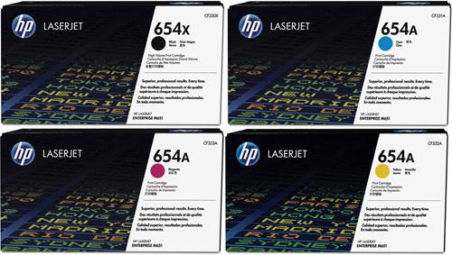HP Hi-Cap Toner Rainbow Pack CMY(15k) K(20.5k)