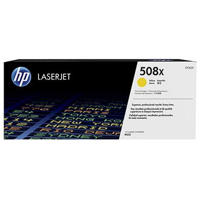 HP CF362X 508X High Cap Yellow Toner Cartridge (9,500 pages)