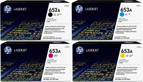 HP Toner Rainbow Pack CMY(16.5k) K(11.5k)