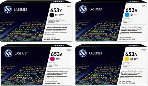 HP Hi-Cap Rainbow Toner Pack CMY (16.5k) K(21k)