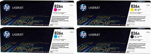 HP 826A Toner Rainbow Pack CMY(31.5k) K(29k)
