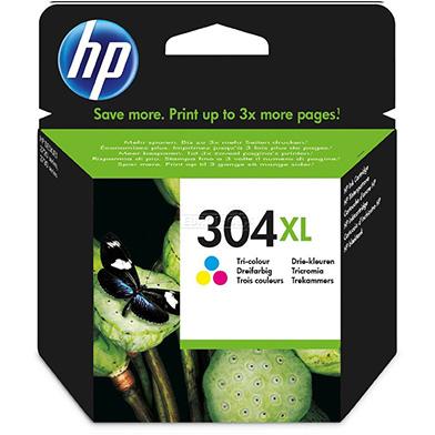 HP 304XL Tri-color Original Ink Cartridge
