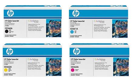 HP Toner Rainbow Pack CMY(11k) K(8.5k)