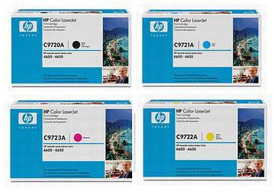 HP Toner Rainbow Pack CMY (8k) + Black (9k)
