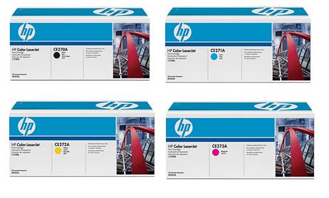 HP Toner Rainbow Pack CMY(15k) K(13.5k)