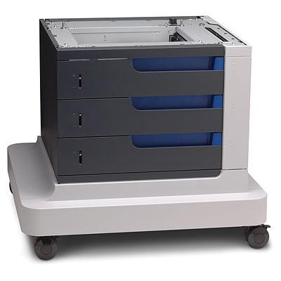 HP 3 x 500 Sheet Paper Feeder & Stand