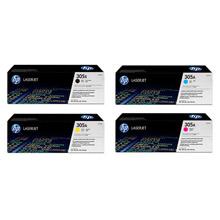 HP Toner Value Pack 4k Black, 2.6k CMY