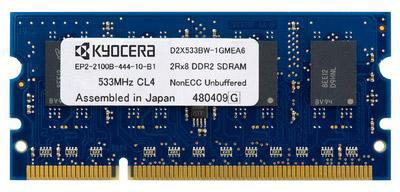 Kyocera MDDR2-1024 1024MB RAM Expansion (144-pin DDR2 DIMM)