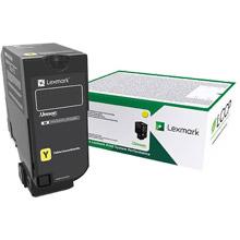 Lexmark Yellow Return Programme Toner Cartridge (15,000 pages)
