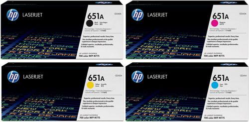 HP Toner Rainbow Pack CMY(16k) K(13.5k)