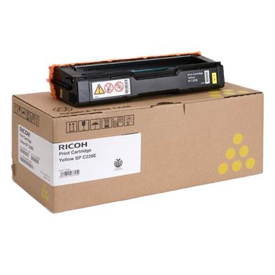 Ricoh 406106 Type SPC220E Yellow Toner Cartridge (2,000 Pages)
