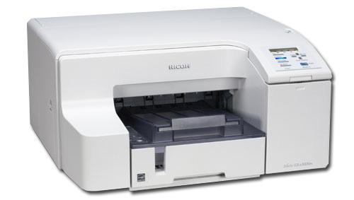 Ricoh Aficio GX eN - Inkjet Printer Review