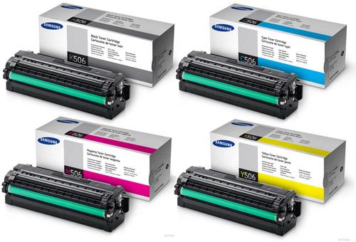 Samsung 506 Hi-Cap Toner Rainbow Pack CMY (3.5K) + Black (6K)