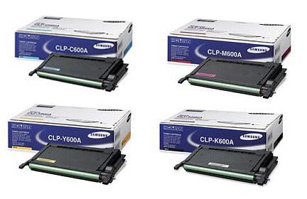 Samsung CLP-600A Toner Value Pack 4k (CMYK)