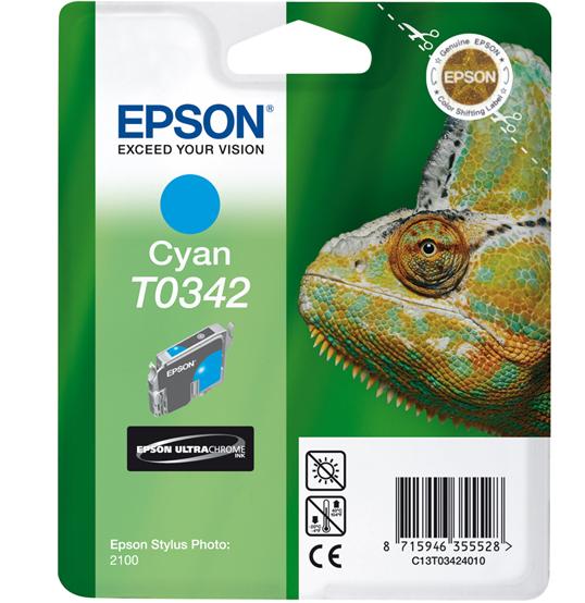 Epson CyanT0342 Ink Cartridge