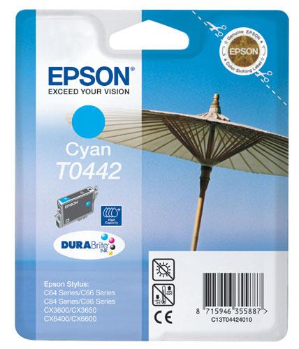 Epson Cyan T0442 Ink Cartridge  (High Capacity)