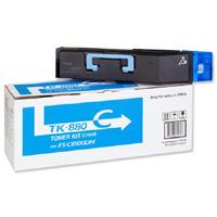 Kyocera TK-880C 18k Cyan Toner Cartridge
