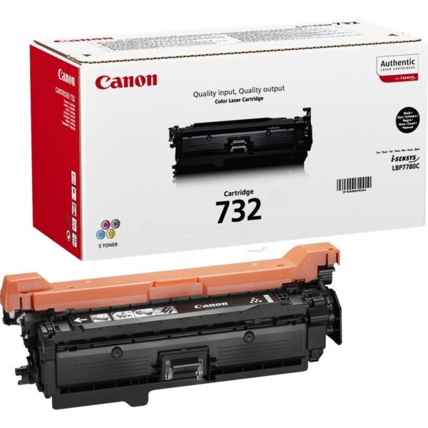 Canon LBP 7780 Black 732 Toner Cartridge 6100 Pages