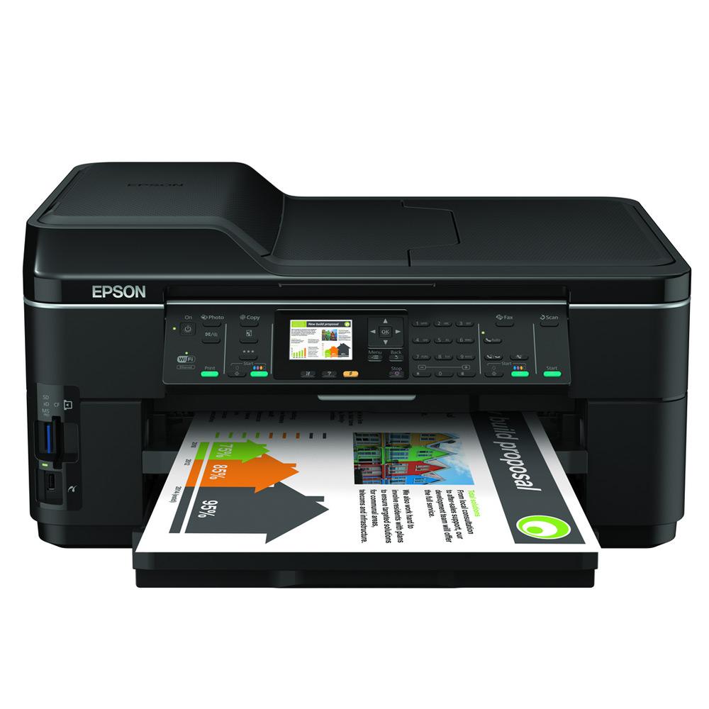 Epson Workforce Wf 7515 A3 Colour Multifunction Inkjet