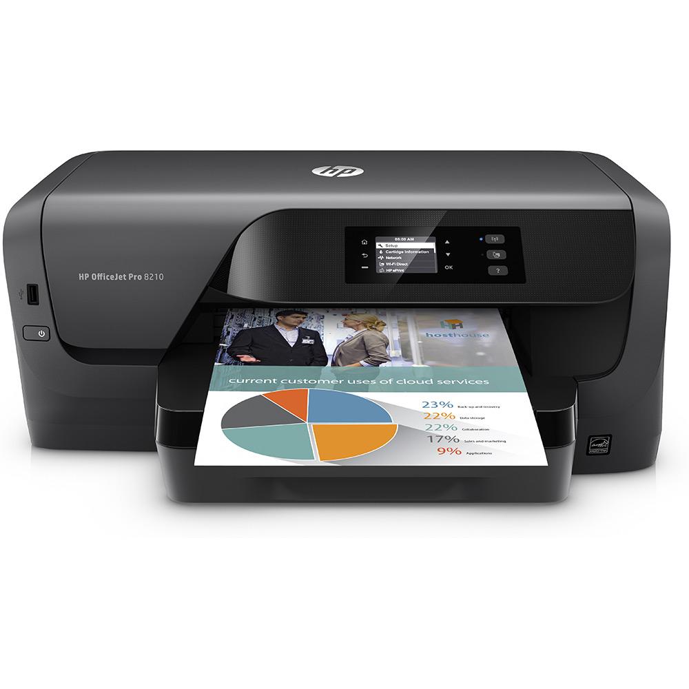 hp officejet pro 8210 a4 colour inkjet printer d9l63a. Black Bedroom Furniture Sets. Home Design Ideas