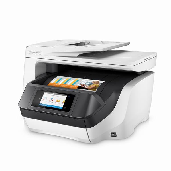 hp officejet pro 8730 a4 colour multifunction inkjet printer d9l20a. Black Bedroom Furniture Sets. Home Design Ideas