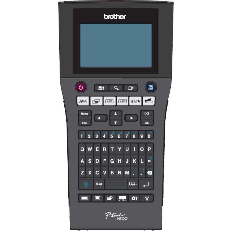 Brother Pt H500 Handheld Label Printer Pth500zu1