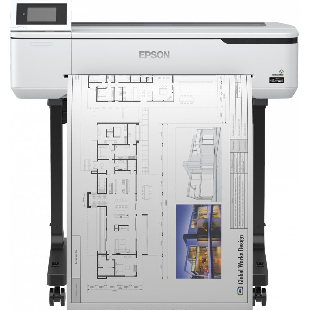 Epson Surecolor Sc T3100 A1 Colour Large Format Printer C11cf11302a1 Install Wireless Diagram