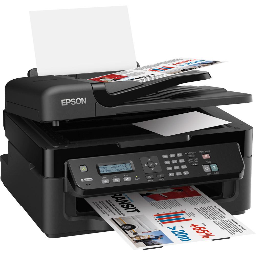 Epson Workforce WF-2520NF A4 Colour Multifunction Inkjet ...