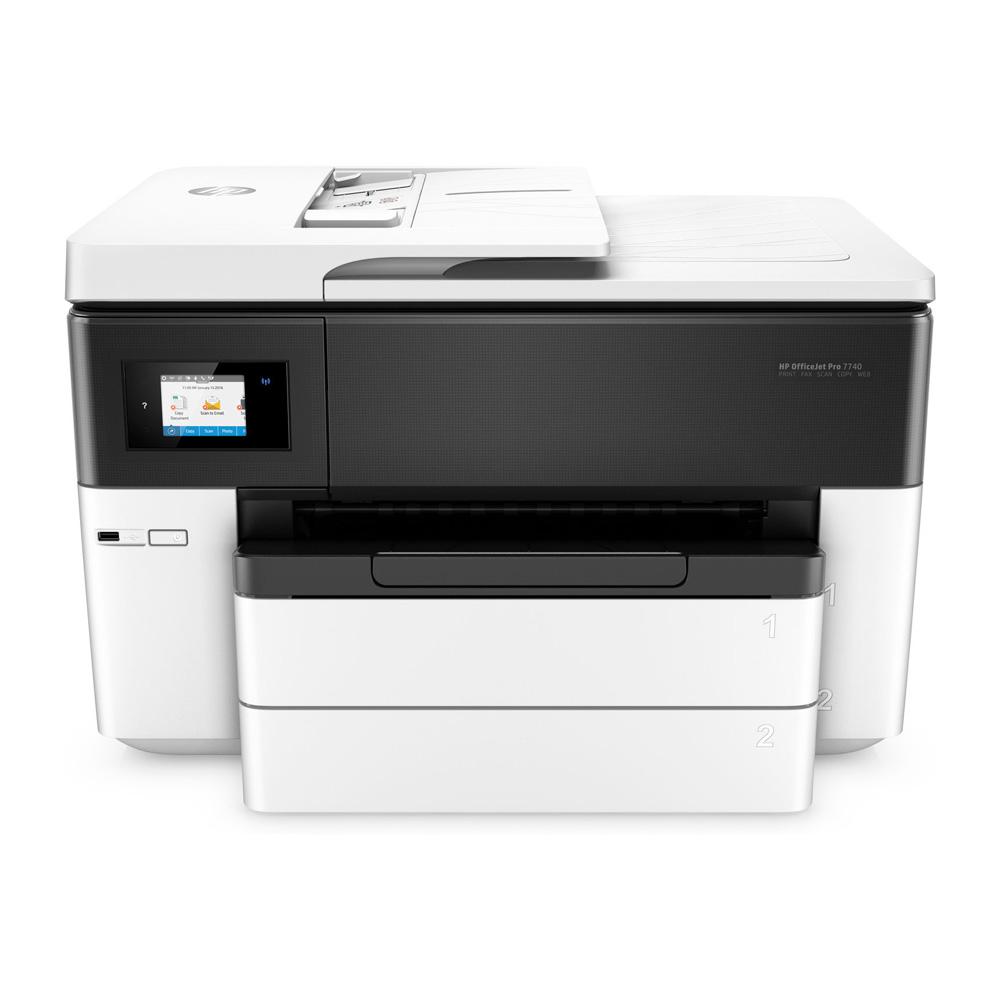 Hp Officejet Pro 7740 A3 Multifunction Inkjet Printer G5j38a