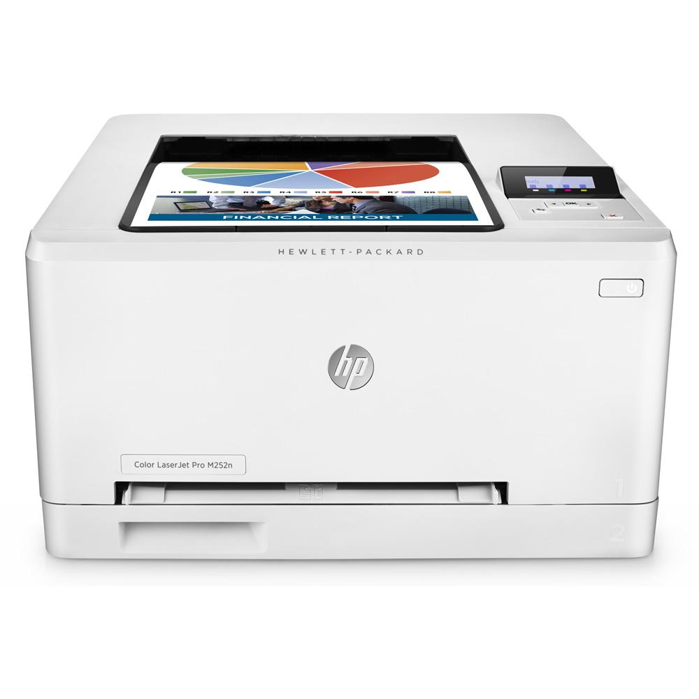 hp color laserjet pro m252n a4 colour laser printer b4a21a