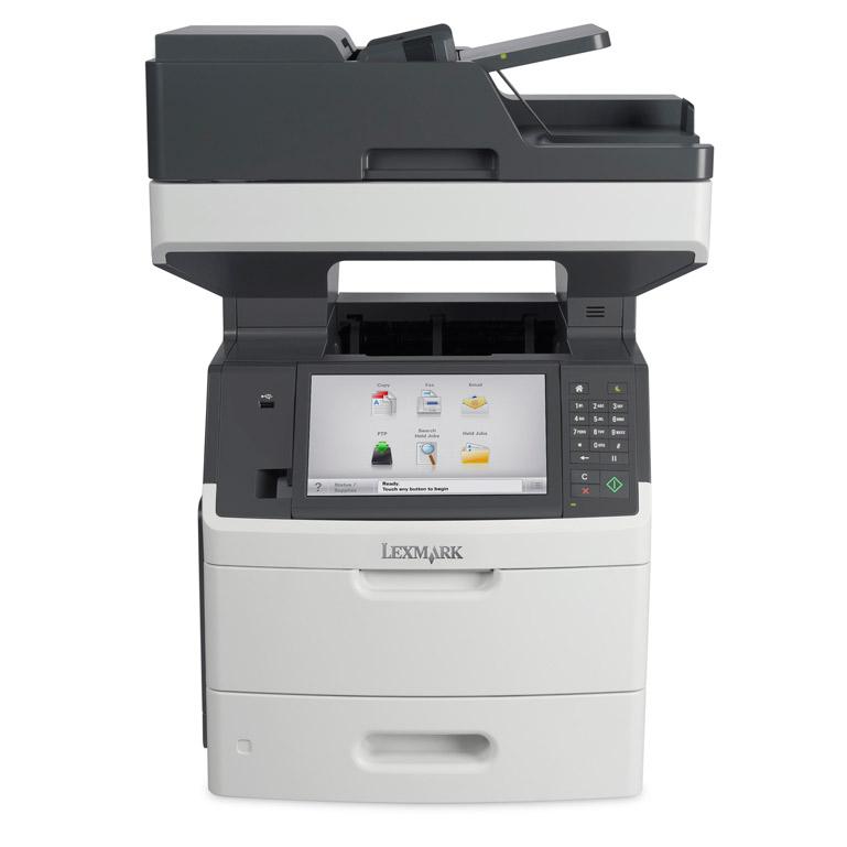 Lexmark Mx711de A4 Mono Multifunction Laser Printer 24t7804