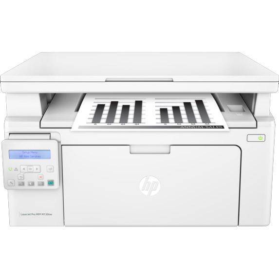 Hp Laserjet Pro M130nw A4 Mono Multifunction Printer G3q58a