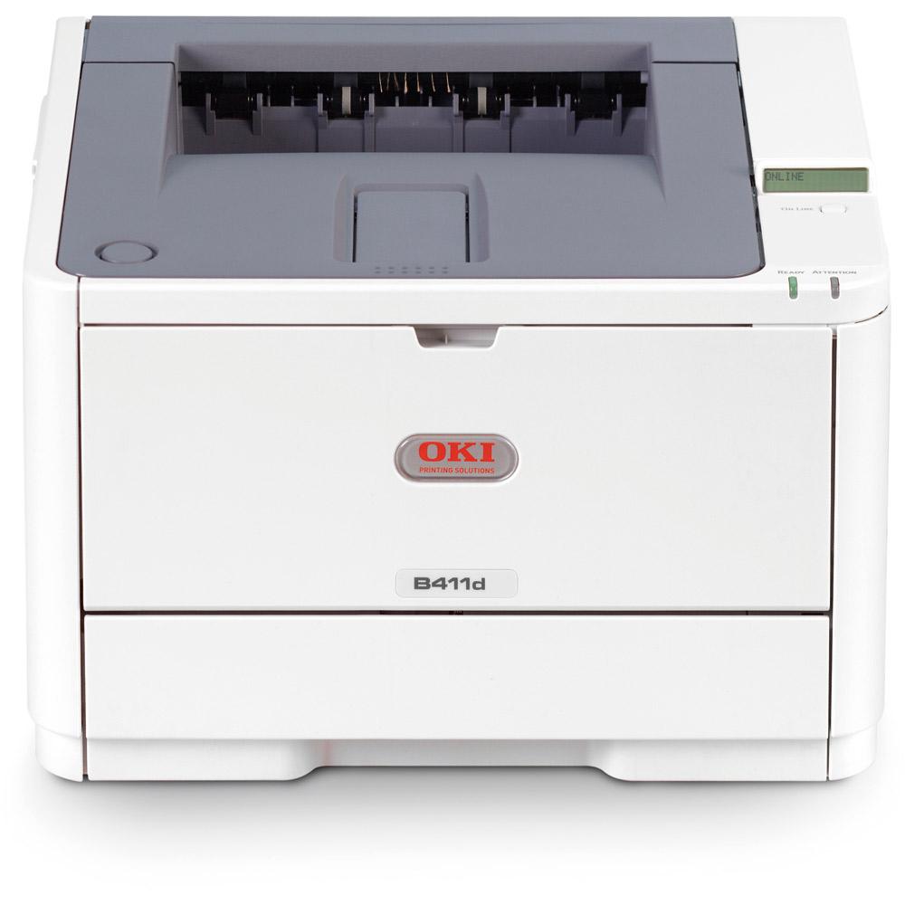 Oki B411dn A4 Mono Led Laser Printer 01282302