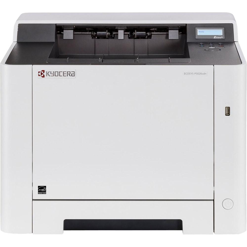 kyocera ecosys p5026cdn a4 colour laser printer 1102rc3nl0