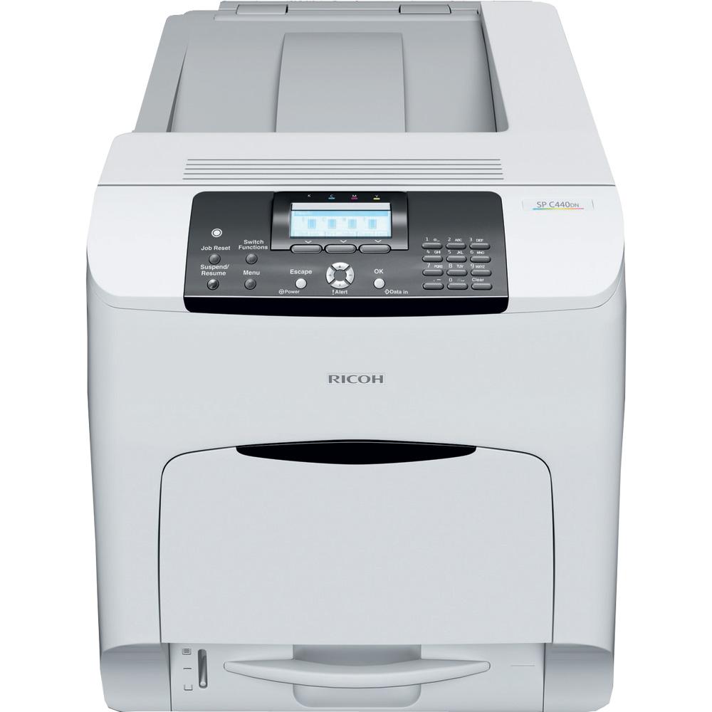 ricoh sp c440dn a4 colour laser printer 909440